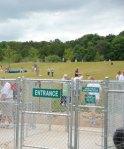 West Bend Dog Park entrance