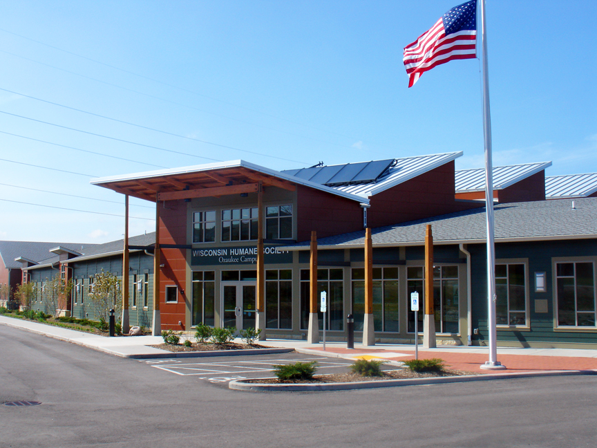 Animal Shelter Buildings Wisconsin humane society